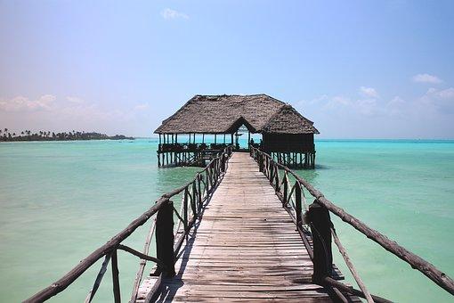 idyllischer Ort am indischen Ozean in Tansania