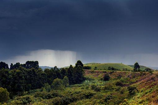 Naturschauspiel in Uganda