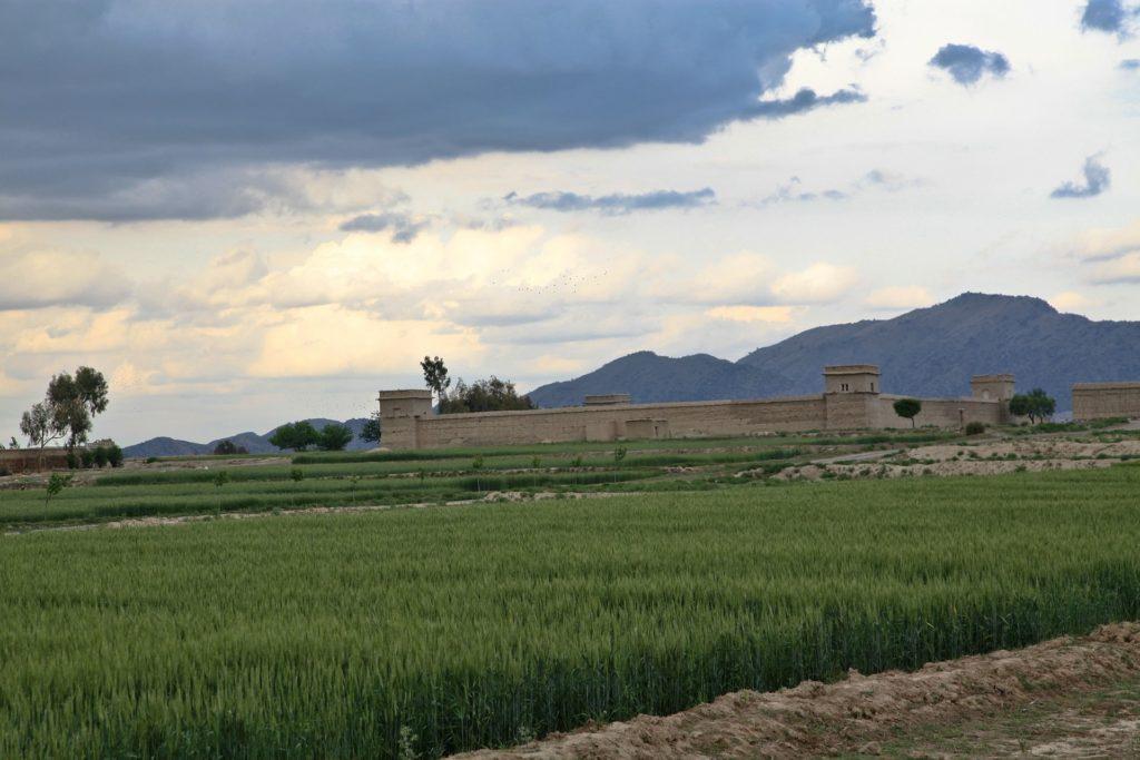 Backpacking in Afghanistan - Festung