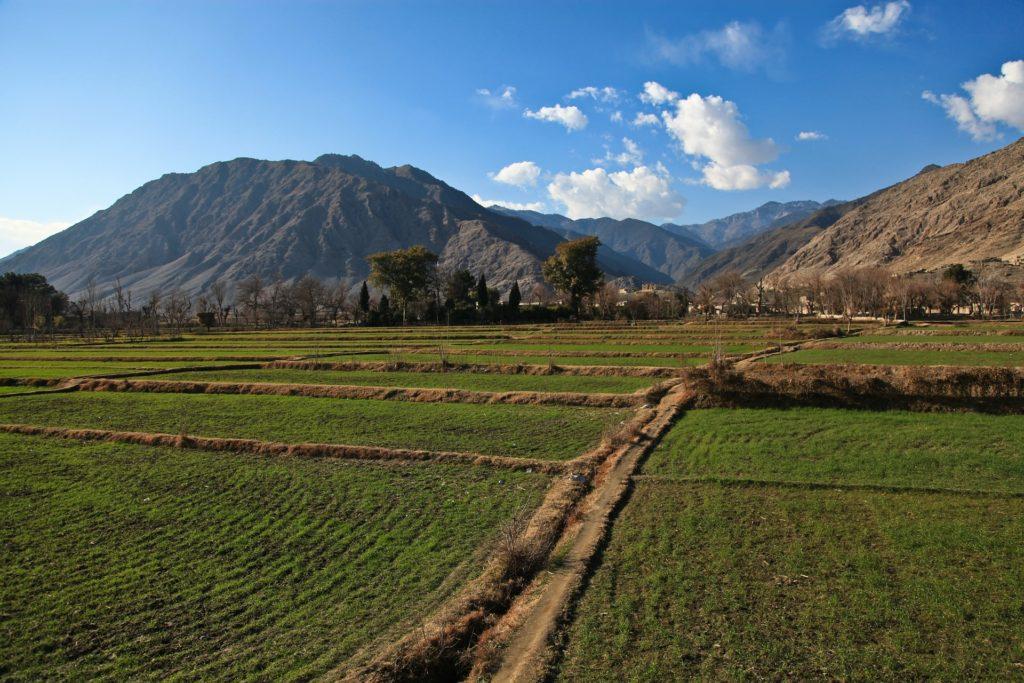 Backpacking in Afghanistan - Landschaft im Frühling