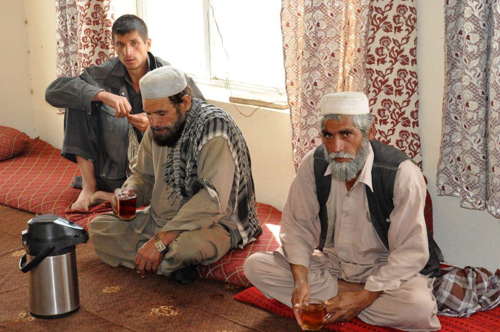 Backpacking in Afghanistan - Teepause