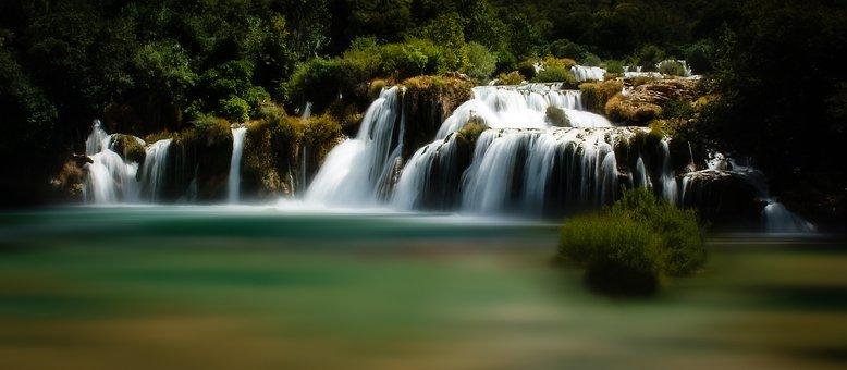 Krka See in Kroatien