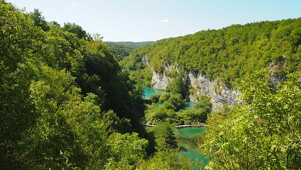 Kroatien Plitvice Seen Nationalpark