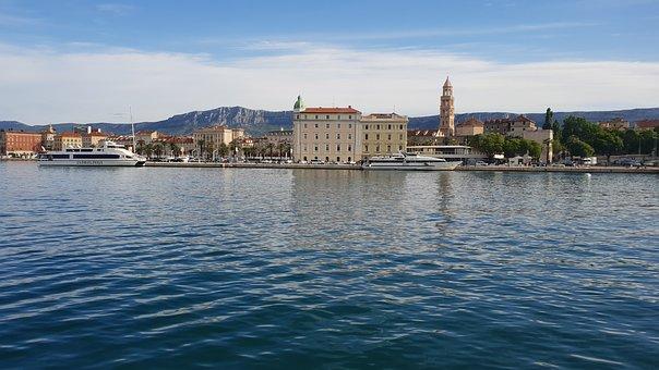 Split an der Adria