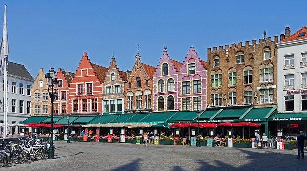 romanticher Stadtkern von Brügge
