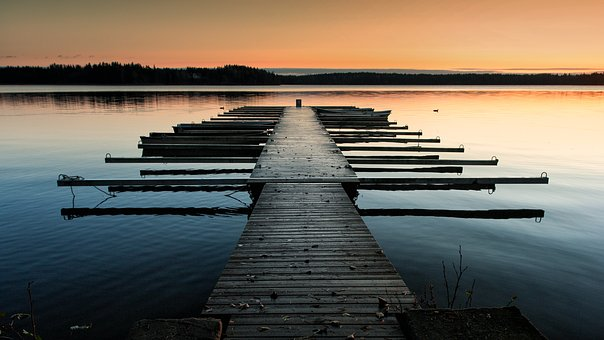Unberührte Landschaften in Finnland
