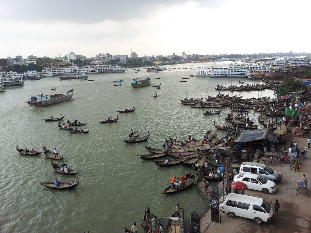 Backpacking in Bangladesch - Dhaka