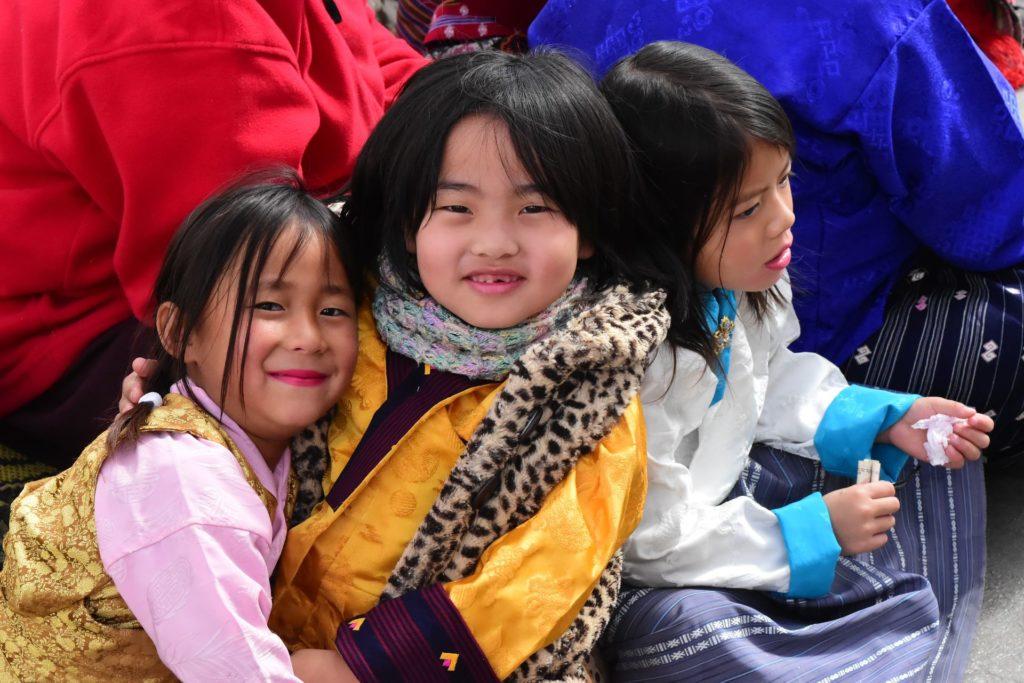Backpacking in Bhutan - Kinder