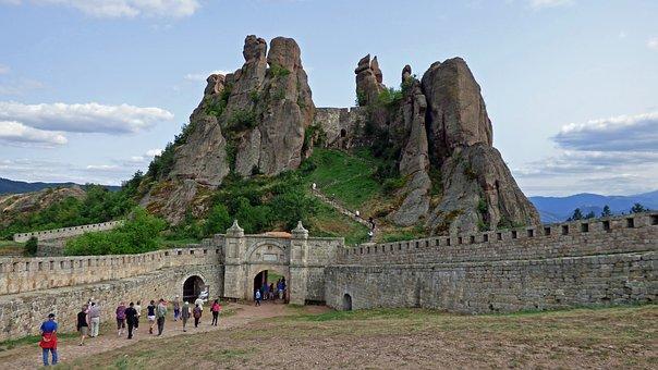 Belogradtschik Festung in Bulgarien