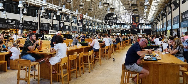 Portugal - food court